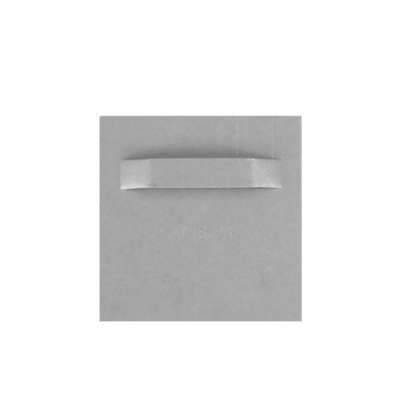 Spiegelblech 70/70mm mit Öse