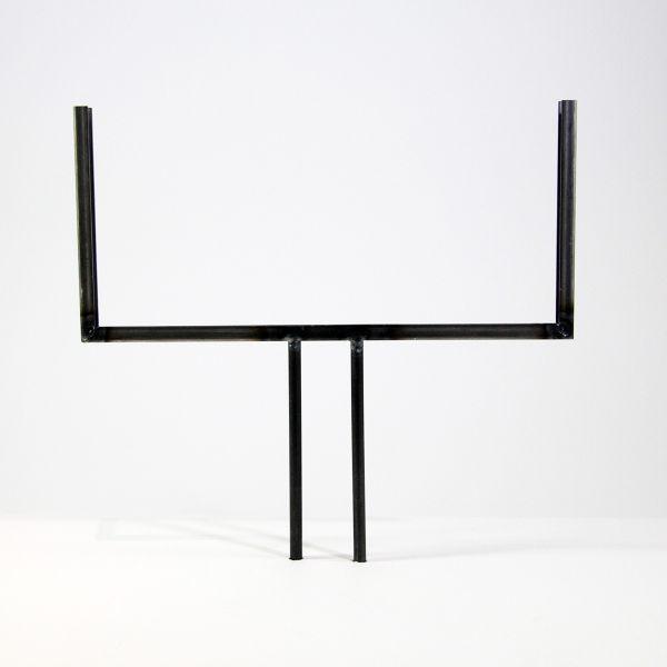 Glashalter kurz, Edelstahl rechteckig für 30cmGlas