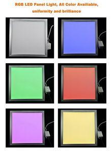LED RGB Licht-Panel, 595 x 595mm, mit Netzteil