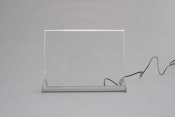 Leuchtdisplay 225 x 165 mm, incl Box, Querformat
