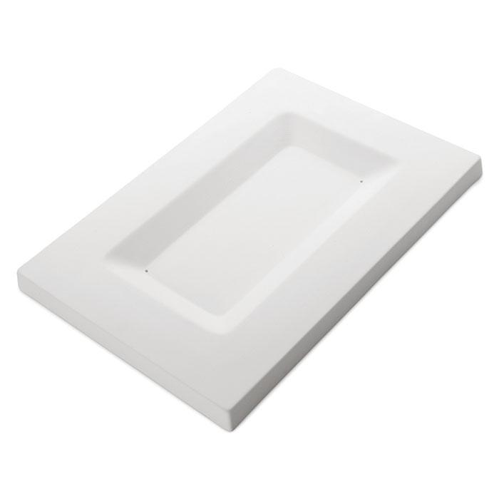 Fusing Form Servierplatte Rechteck
