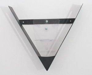 V-Wandhalterung schwarz