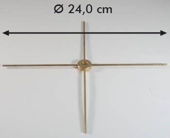 Schirmspeiche 4-fach d:240 mm