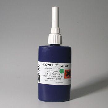 CONLOC® UV 665 UV-Kleber 100g grün