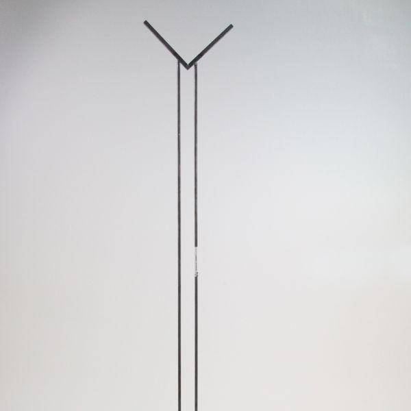 Glashalter lang, Edelstahl V-Form für Glasquadrat