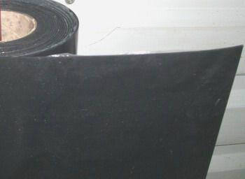 Gummi-Pressmatte, B:1,2m 2mm