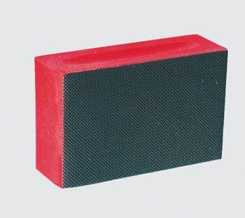 Diamantschleifklötze rot