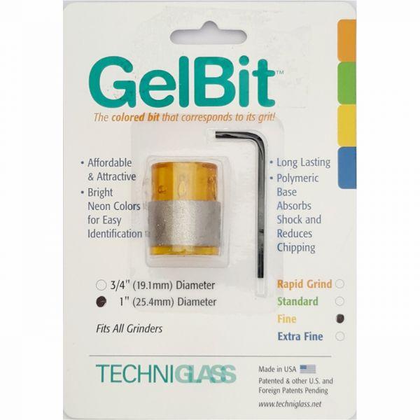 GelBit Schleifkopf 25mm fein