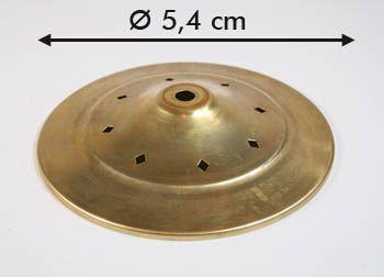 Kappe mit Rauten d: 5,4cm