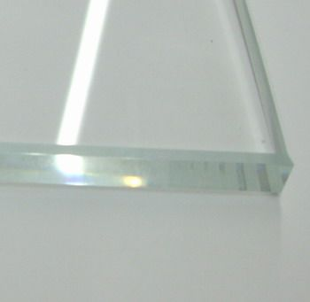 Weissglas 10mm, 165 x 225 mm, polierte Kante