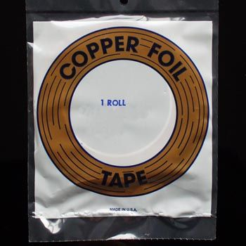 "Kupferfolie (E) kupfer 1/4"" 6.4mm"