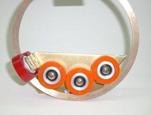 Apollo Einsatz mit Doppelband Glas