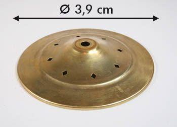 Kappe mit Rauten d: 3,9cm