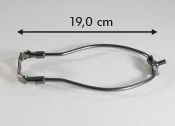 """Harfe brüniert 7,5"""" 19,0cm"""