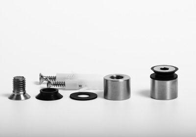 Distanzhalter, flächenbündig, D-20mm, 6-10 mm Glas