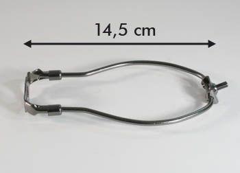 """Harfe brüniert 5,1"""" 14,5cm"""