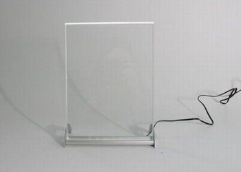 Leuchtdisplay 225 x 165 mm, incl Box, Hochformat