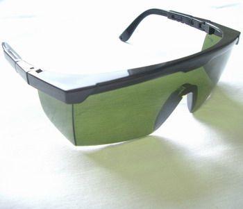 Schutzbrille, grün neu UV/IR