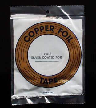 "EDCO Kupferfolie silber 13/64"" 5,2mm"